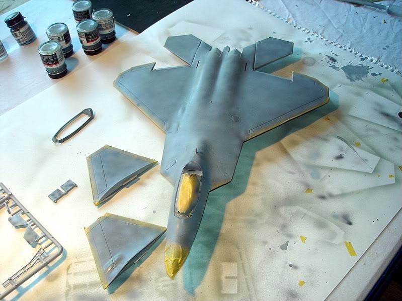 F-22 Raptor escala 1/48 Aviones1282