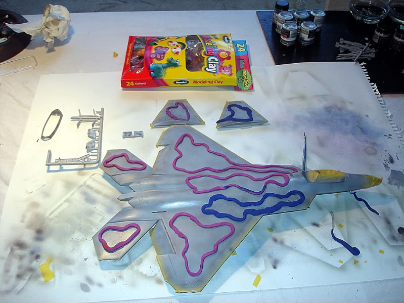 F-22 Raptor escala 1/48 Aviones1284