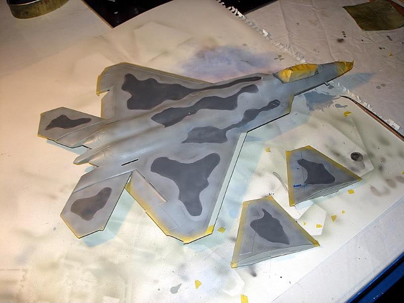 F-22 Raptor escala 1/48 Aviones1285