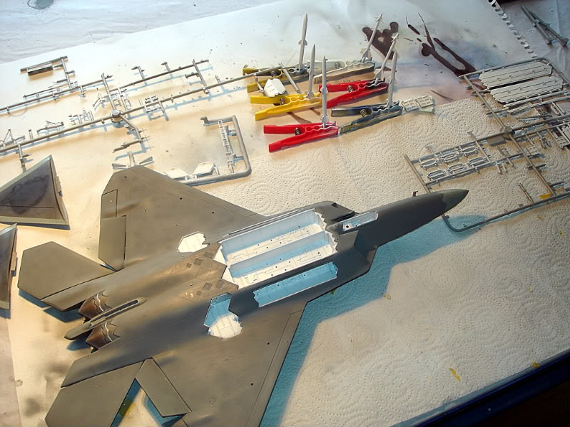 F-22 Raptor escala 1/48 Aviones1290
