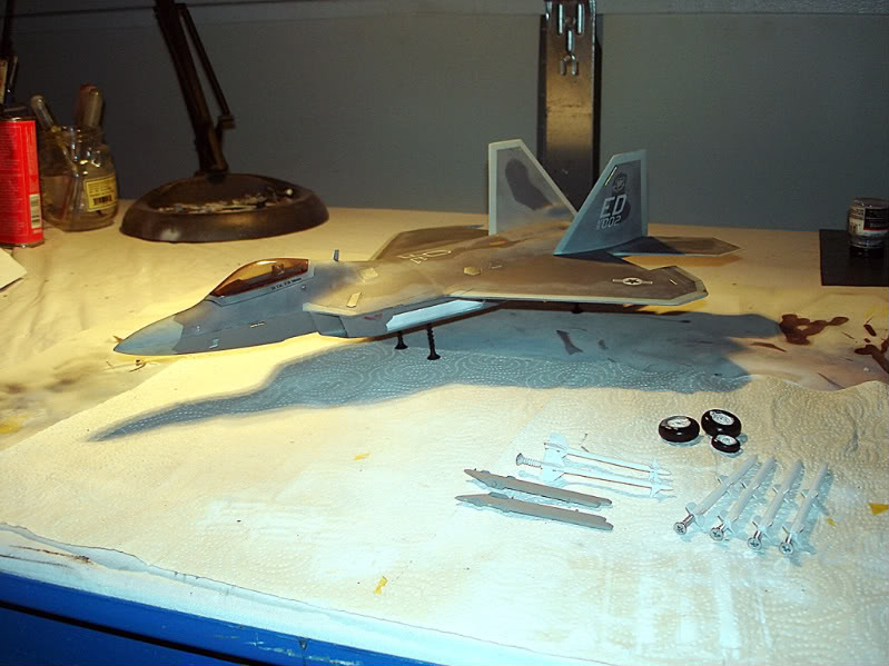 F-22 Raptor escala 1/48 Aviones1292