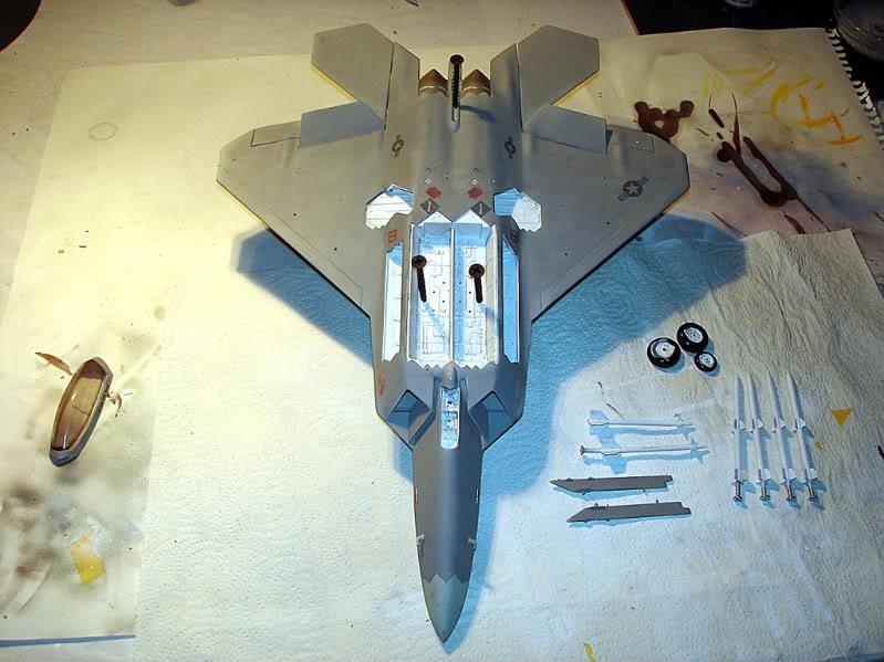 F-22 Raptor escala 1/48 Aviones1293