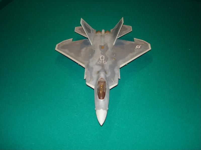 F-22 Raptor escala 1/48 Aviones1296
