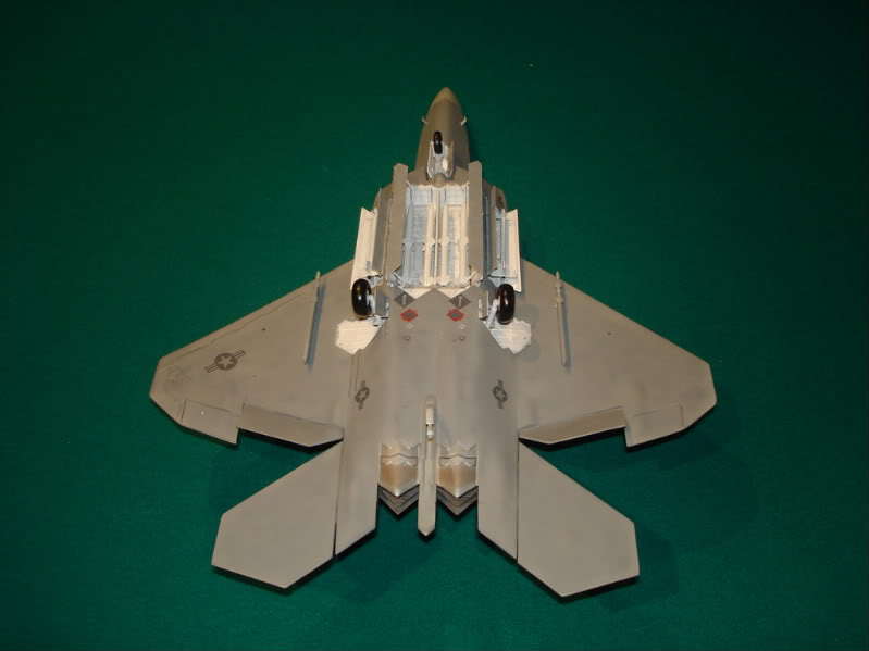 F-22 Raptor escala 1/48 Aviones1298