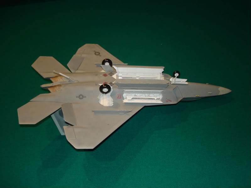F-22 Raptor escala 1/48 Aviones1299