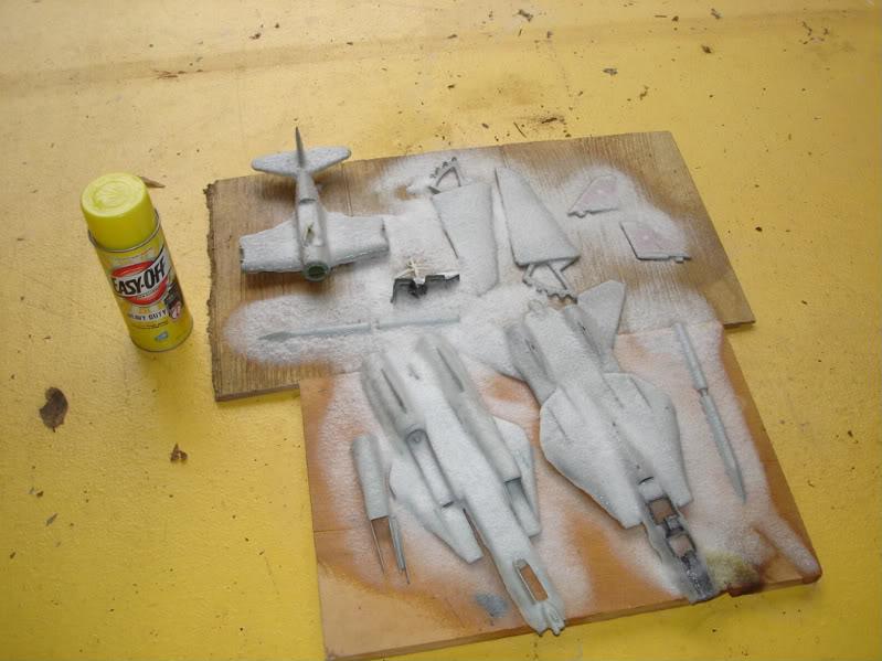 Remocion de pinturas y calcas. Aviones1331