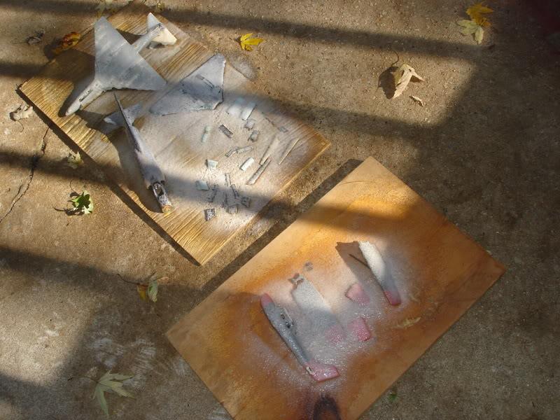 Remocion de pinturas y calcas. Aviones1355