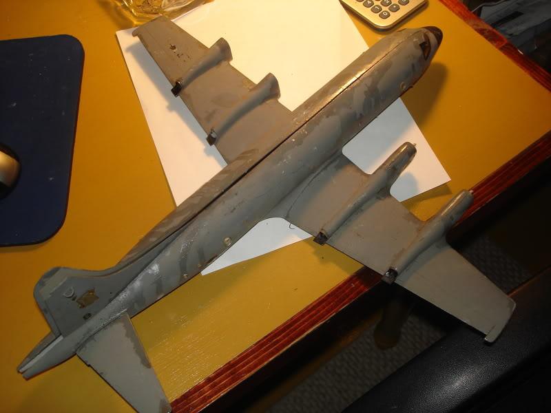 Remocion de pinturas y calcas. Aviones1362