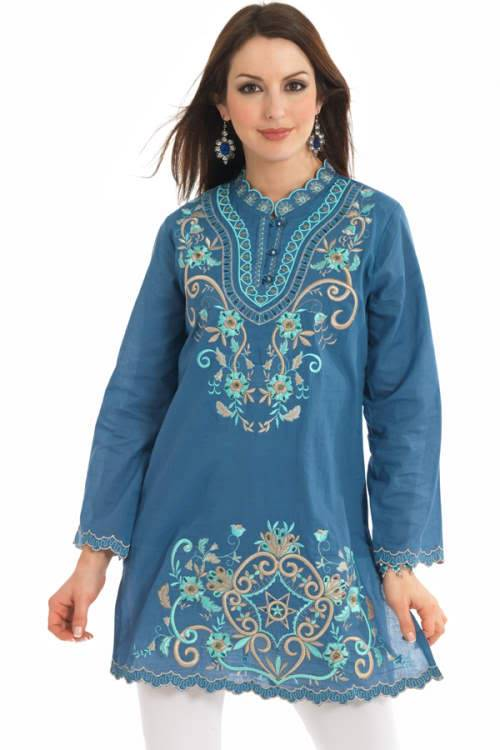 Beautiful Embroidery Kurtas ( Cool Pictures ) 28sqzxk