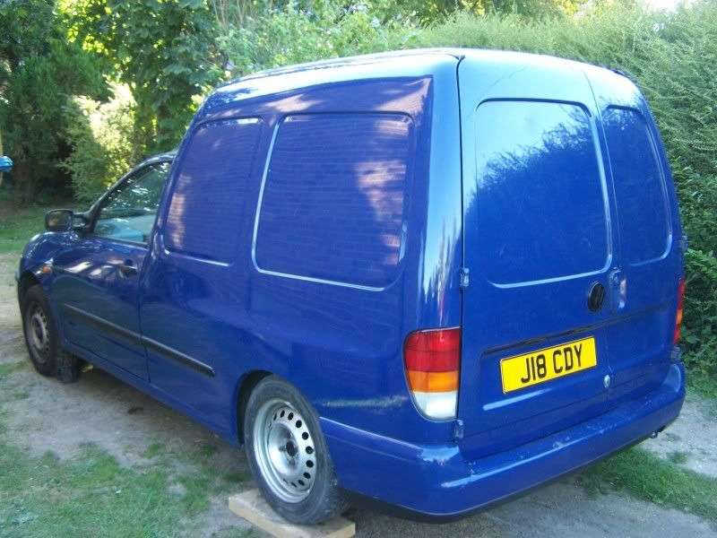 """derek"" the tdi van Thebluewagon037"