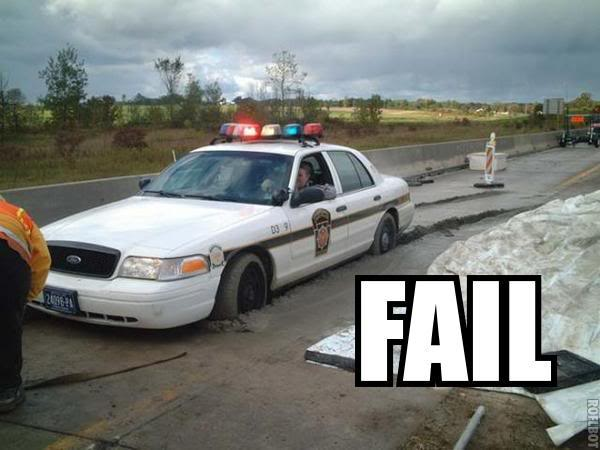 """Epic Fail "" picture thread Cop-fail"