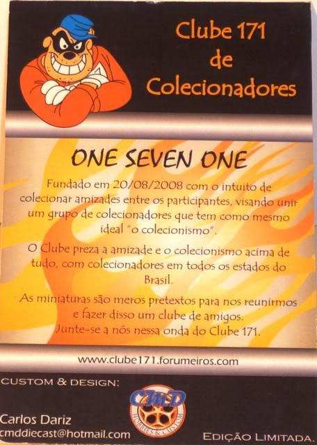 DAIRY DELIVERY RIFA ON LINE DO CLUBE 171 BY CMD CUSTOMS!!! Drifapreta5