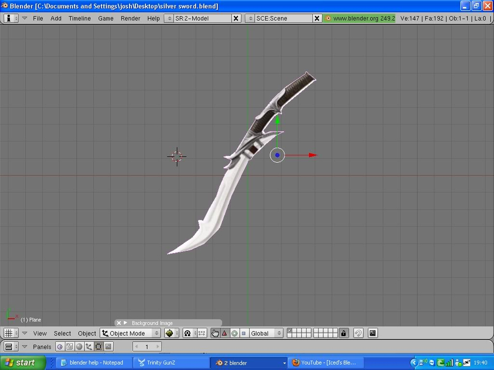 [Blaze]Silver sword. 1-1