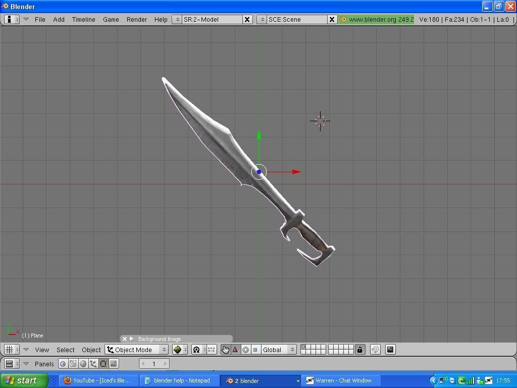 [Blaze]Sparta sword Textured1