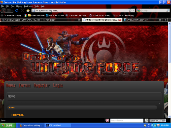 New site progress. Sitetoosmall
