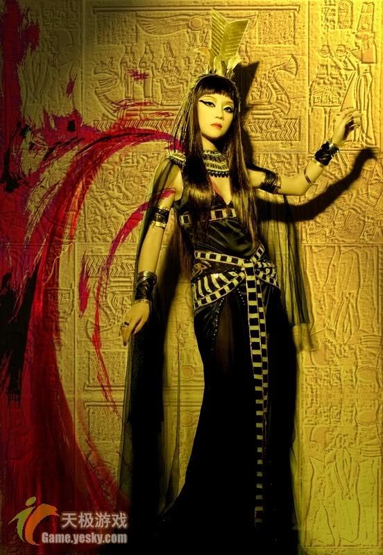[Cosplay] Nữ hoàng Ai Cập 20400690501