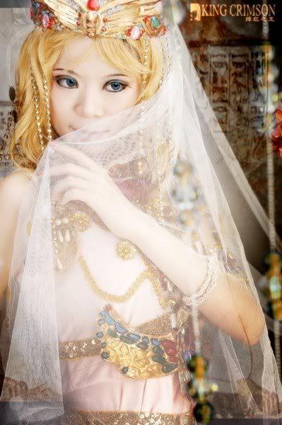 [Cosplay] Nữ hoàng Ai Cập Aa