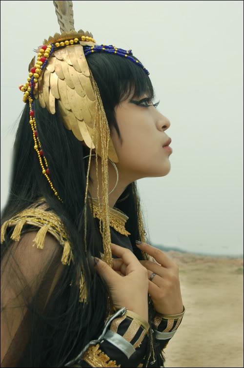 [Cosplay] Nữ hoàng Ai Cập 20400719831