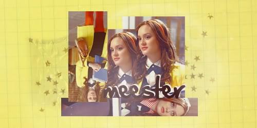 Chall Nº3 - Banner - Cast Gossip Girl - Página 2 Meester