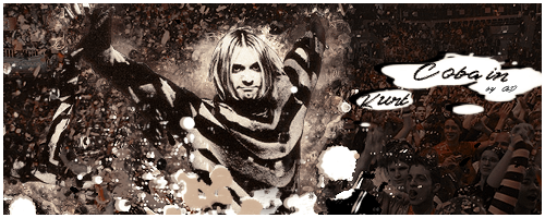 Zeigt her eure Werke - Der Grafikerthread Cobain