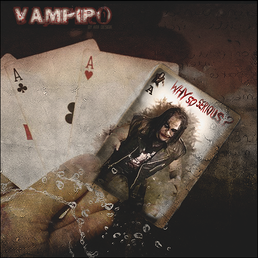 Zeigt her eure Werke - Der Grafikerthread Vampiro