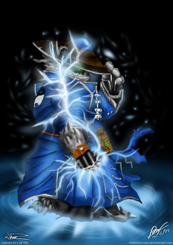 Raijin, Thunderkeg Raijin_Thunderkeg_Storm_Spirit_by_C