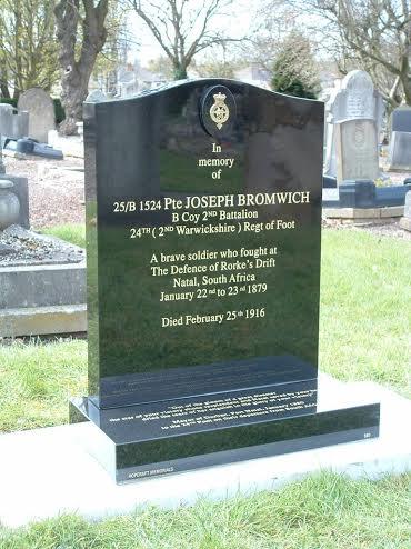 Private Joseph Bromwich, Defender of Rorke's Drift memorial Untitled2_zpso4cjwweg