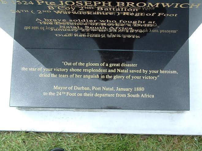 Private Joseph Bromwich, Defender of Rorke's Drift memorial Untitled_zpsqrconljo