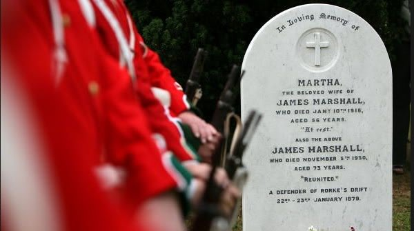 Rededication service for Pte. James Marshall. Capture3-13