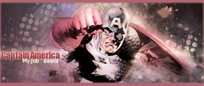 Nico se présente Captainameric