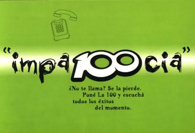 Publicidades de La 100 (2001) LA100-1