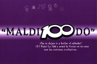 Publicidades de La 100 (2001) LA100-2