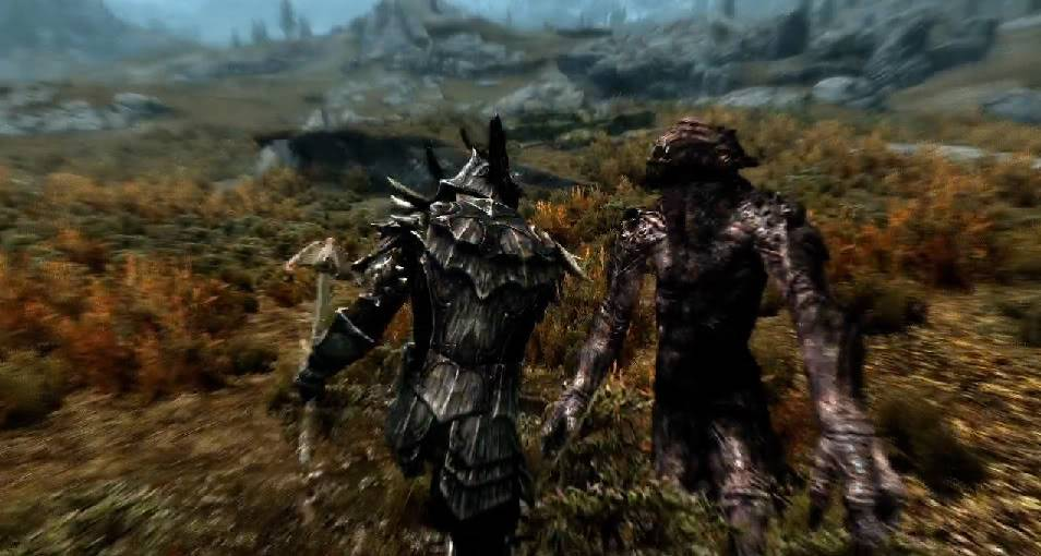 Post Skyrim Screens here Fight