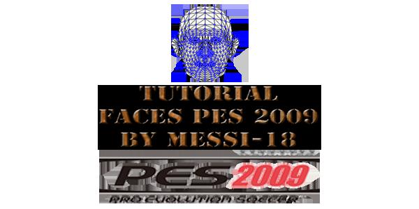 Tutorial Faces Pes 2009 Textura & Oeditacion By Messi-18 Tutorialfacespes2009bymessi
