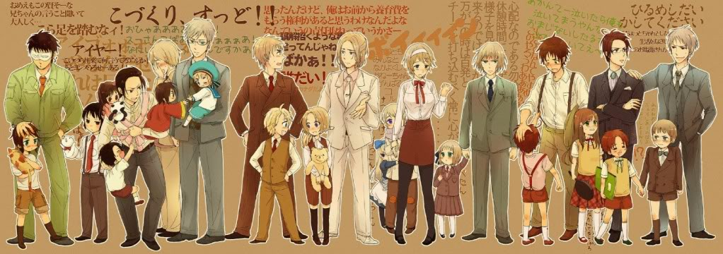 Hetalia Role Playing