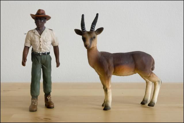Arrakai's Bullyland figures Gazelle-2