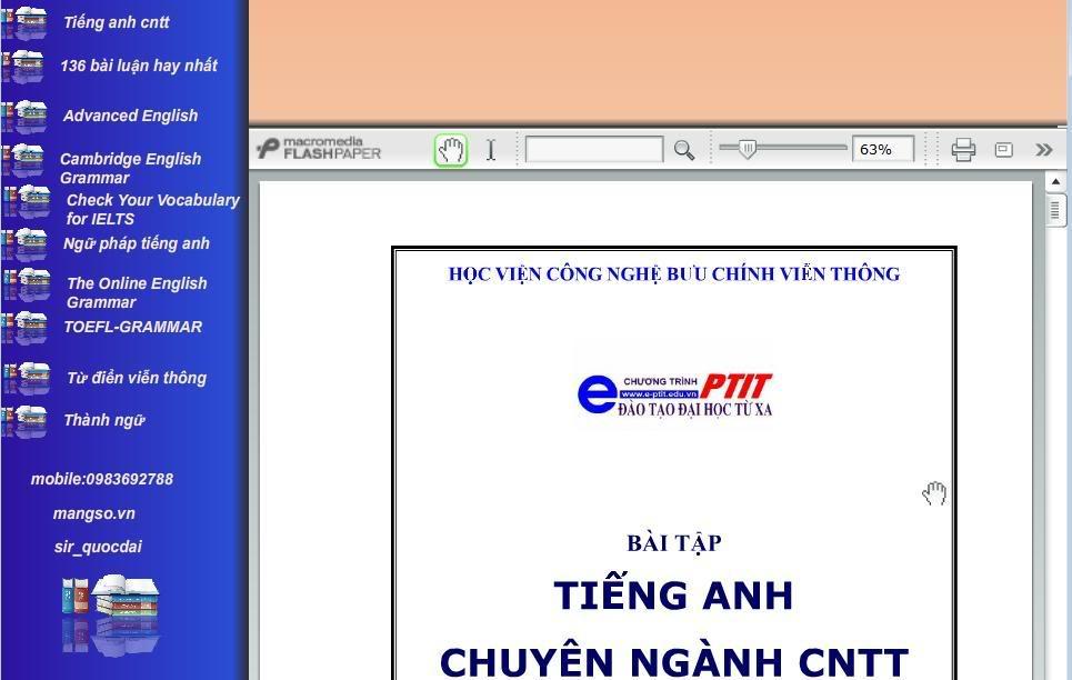 Đĩa CD Full tài liệu học Tiếng Anh Tienganh2