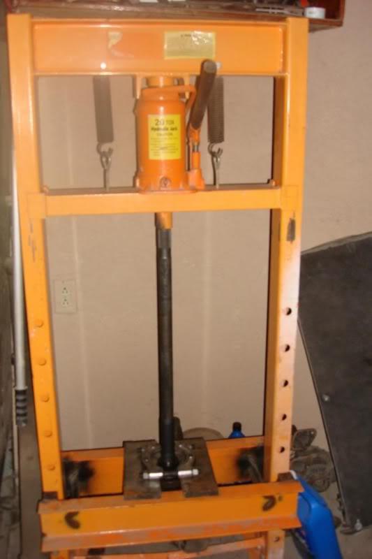 Prensa mecánica casera