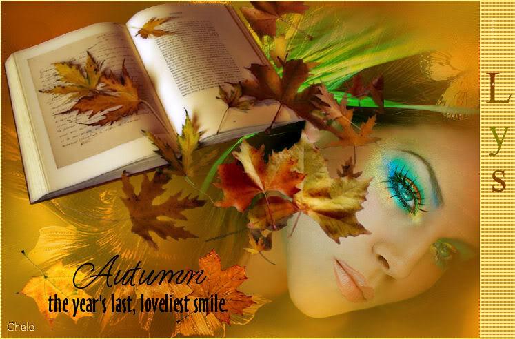 EL OTOÑO SE ACERCA CON MUY POCO RUIDO...* Autumn_lys