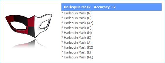 Novos Itens Papel Shop! (#15) HarlequinMask