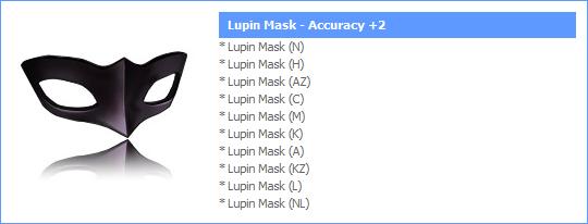 Novos Itens Papel Shop! (#15) LupinMask