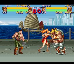 Final Fight vs Street of Rage Ff2-2