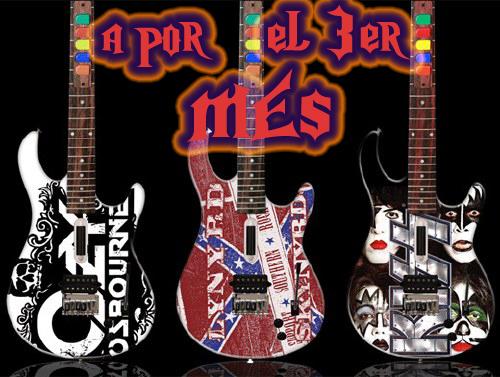 Foro gratis : EncoreX - Guitar Hero Club - Portal Guitar-hero-custom-painted-