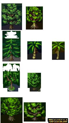 [VX/ACE] Pack Gráficos Hanzo Kimura Object_Trees