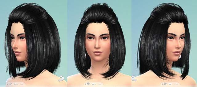Прически для The Sims 4 Женские. - Страница 3 4d0ec3bdbe2440ccde07f4510d9a0395