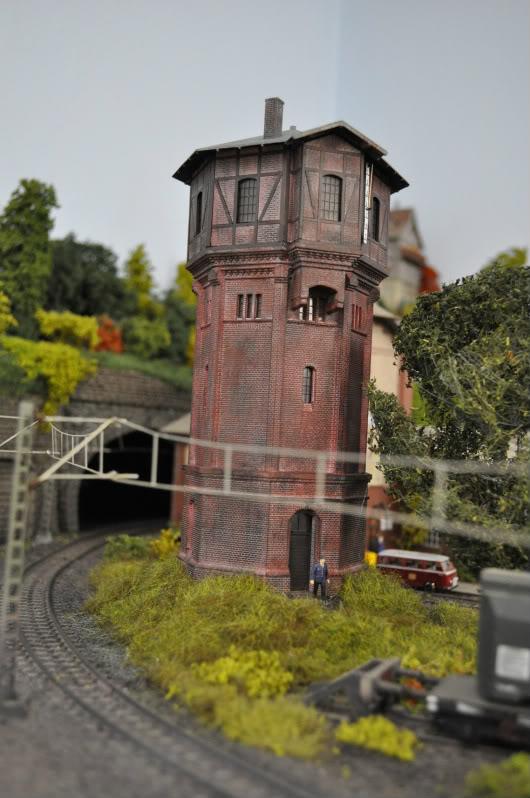 Das Ruhrgebiet im Modell Wasserturm1-1