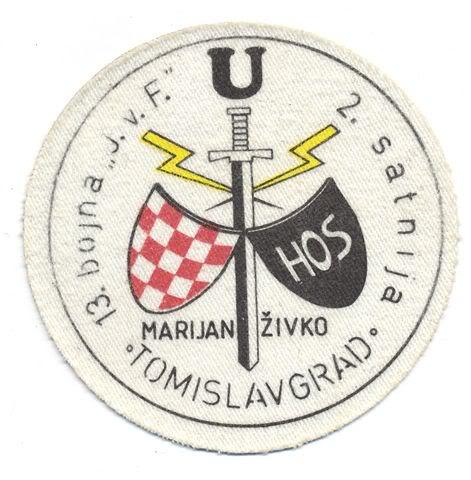 insignes Croate H.V et H.V.O 1991/1995 107