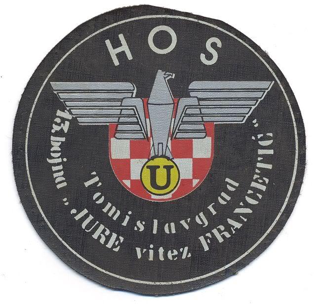 insignes Croate H.V et H.V.O 1991/1995 108