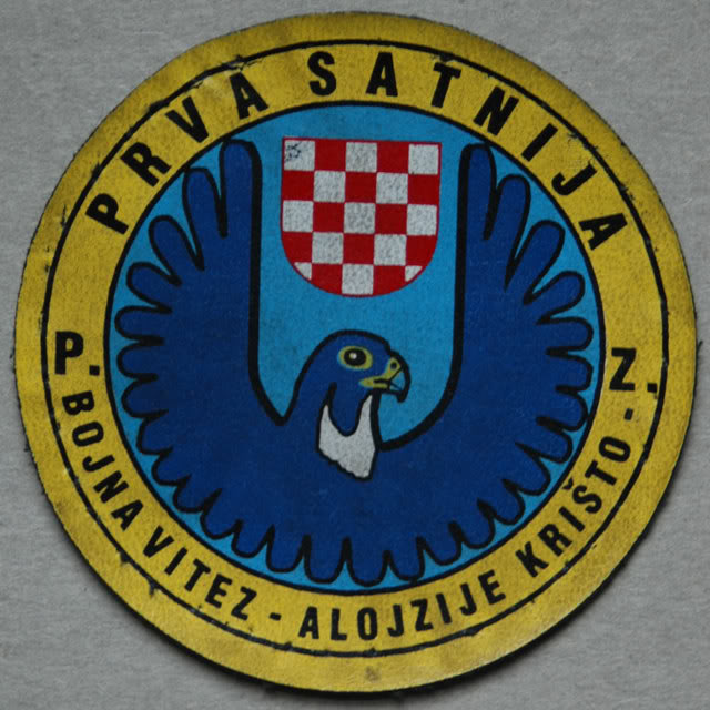insignes Croate H.V et H.V.O 1991/1995 201