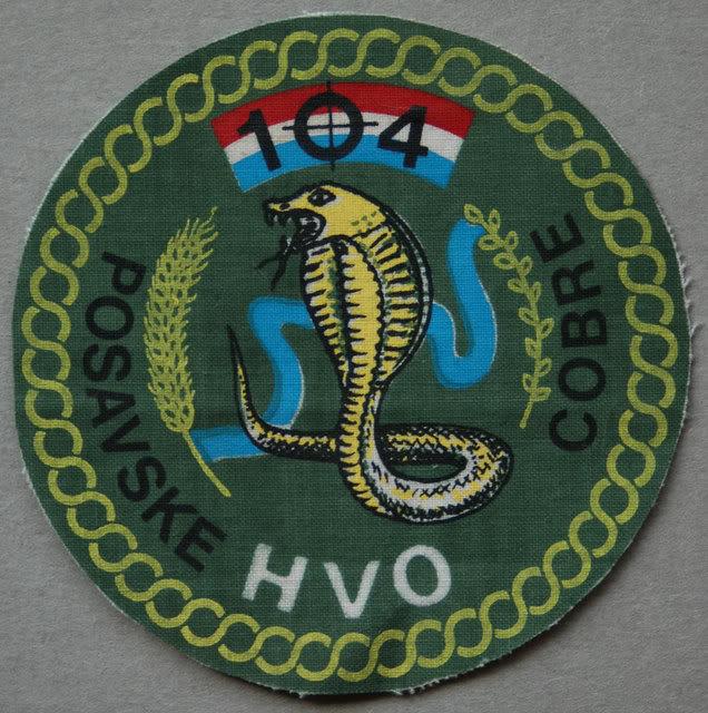 insignes Croate H.V et H.V.O 1991/1995 23